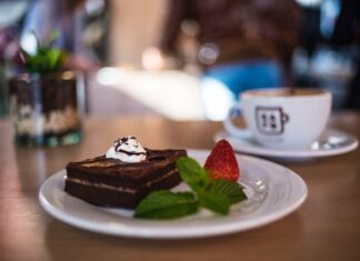 kawowe brownie
